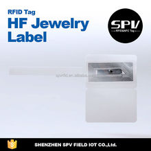 Low Cost UHF RFID hang Tag for Jewelry Management
