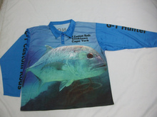 Sublimated Fishing Jersey, fishing shirts long sleeve for team