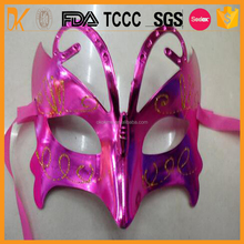 Party plastic face mask for women