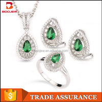 Popular asian bridal jewelry good quality jewelry set for women
