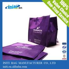 Hot sale fashion quality custom made shopping bag non woven