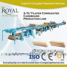 high speed BC-FLUTE dobule wall corrugated cardboard production line, box making machine