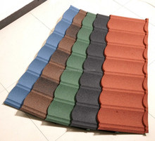 Natural Stone Chip Coated Metal Roof Tile/Roof Sheets Price Per Sheet