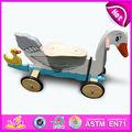 Quente novo produto para 2015 scooter de madeira de brinquedo para crianças, bonito brinquedo de madeira scooter para crianças, venda quente de madeira brinquedo scooter wj278665