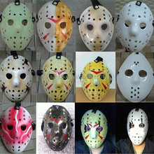 Wholesale solid quality PVC Halloween Jason Hockey goalie mask Jason Vs Freddy Mask popular baseball mask 12designs available