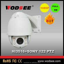 P2p wireless 3d outdoor dome cctv 1080p speed ip ptz camera price