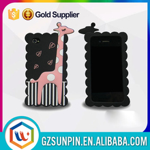 dual sim battery led logo light back maze cigarette cover case for iphone 4