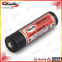 18650 flashlight 2200mah lithium 3.7v power AA rechargeable batteries