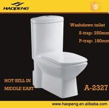 A-2327 sanitary ware chaozhou toilet manufacturer ceramic toilet bowl