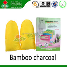 Eco-friendly shoes deodorizer bamboo charcoal shoes plugs