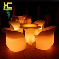 lounge bar table light bar table and chair, lighting furniture,LED bar counter