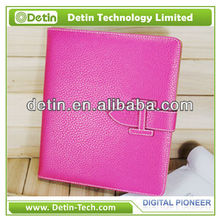 New design leather Week/Sleep smart cover for iPad air 2