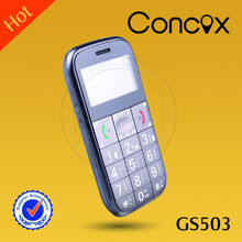 Nice mobile cdma senior phone GS503 with SOS emergent button/FM radio