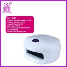 LED curing nail lamp/UV nail lamp/Better led nail UV lamp 18W