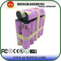 4s3p 14.8v 6900mah polymer batteries packs electric golf cart price