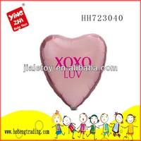 2014 heart shape latex balloon for festival gift/Wedding decoration foil balloon china manufacturer