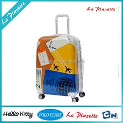 2015 Guangzhou Trendy custom foldable trolley luggage