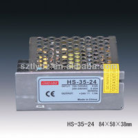 output 24v dc power supply 36w 1.5a led driver