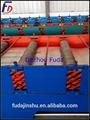 metal material de construcción de las hojas del techo precio por hoja