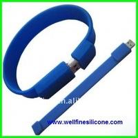 Silicone Bracelet USB Flash Drive supplier