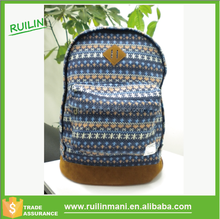 Hot Selling Unique Canva's Japanese Girls Backpack