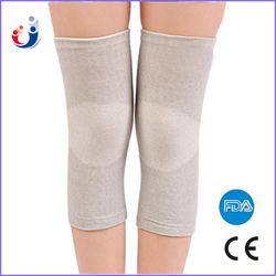 CE FDA approved high quality knitted knee sleeve bamboo charcoal fabric basketball knee support