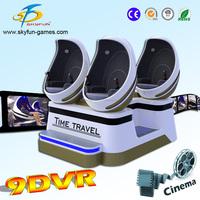 Christmas New business opportunity hot sale 360 degree vr 9D cinema 9d egg cinema