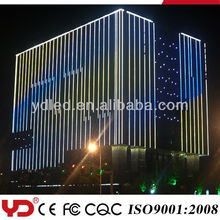 YD IP68 CE FCC approved led exterior building facade
