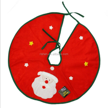 Customised size decoration for new year tree 48 inch diameter xmas tree skirt