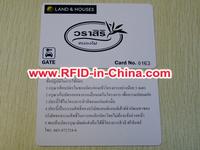 13.56MHz HF Oyster Card RFID Cram Shell Smart Card, Ultralight/MF 1K/4K/Tag-it RFID Student Card