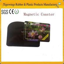 Magnetic plastic coasters for crafts,beer coasters for sale
