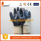 Ddsafety venda quente algodão/forro de jersey com pesados nitrilo revestido- dcn306