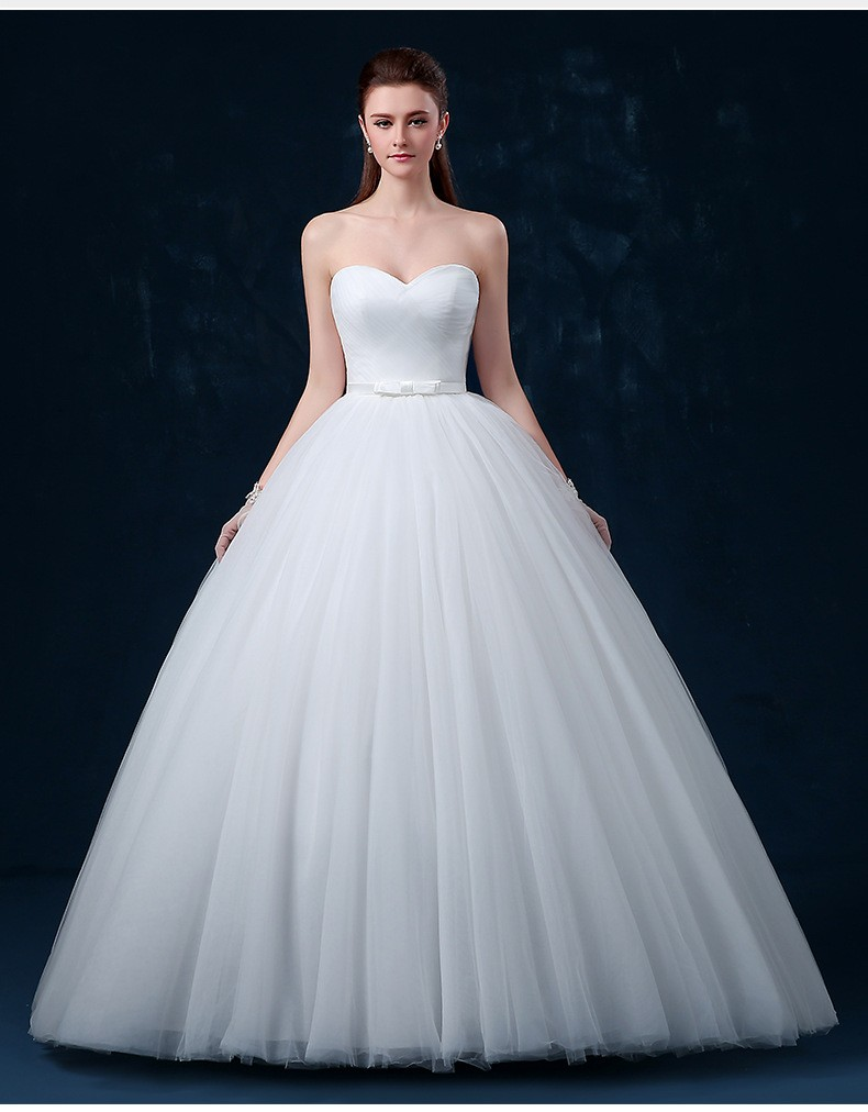 Perfect Strapless White Ivory Maternity Soft Tulle Pregnant Wedding ...