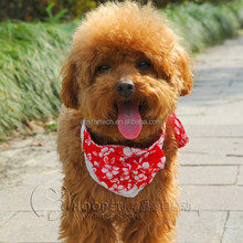 New Arrival pet supplies dog scarf Fine Cloth Double-Deck with Lace cat collar Saliva towel Scarfs for Dogs