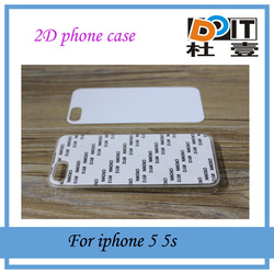 2D blank sublimation cases for iphone 5 with best price