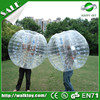 Crazy sport!bubble ball for outdoor football or soccer,newly style human bubble ball ,adult or kid bumper ball