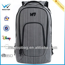 Polyester business backpack casual laptop 15'' geometric bags