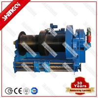 Safety Pulling Double Drum Water Proof Winching Hosting Mechanism