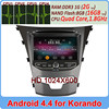 Ownice C200 Quad Core Pure Android 4.4.2 gps navigator ssangyong korando Support OBD DVR TPMS optional