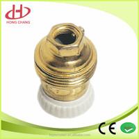 E27 bronze lampholder porcelain lampholder