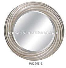 Decorativos espejo oval marco, espejo de la pared del marco para la decoración