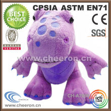 Purple stuffed dino animal plush dino toys