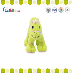 Wholesale low price product cute dog with grey and yellow toys for baby gift