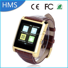 Factory hot sale 2015 waterproof Bluetooth wifi dm08 smart watch for android smart phone