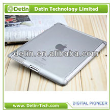 Hot selling Crystal clear hard tablet case for custom ipad