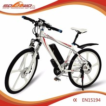 """250W 26""""inch Magnesium alloy integrated wheel electric motorcycle"""