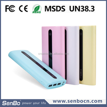 Alibaba express high quality 12000mah manual for power bank battery charger