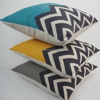 Square plain support pillows custom decorative geometric cushions wholesale pillow covers 20*20