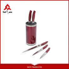 Metal knife sets any color is available new kitchen products