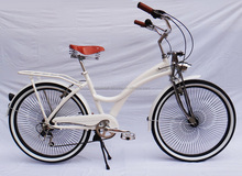 26inch new style alloy frame dutch classic city lady adult white baking finish bicycle/bike sell in